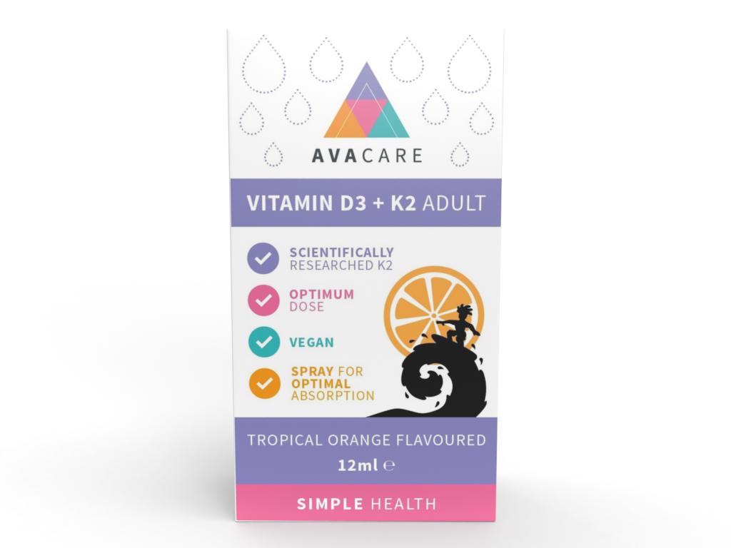 Vitamin D3 + K2 Adult 12ml