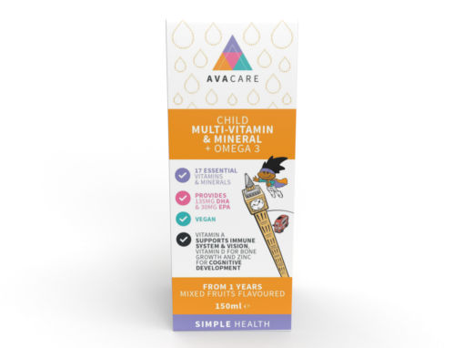 Child Multi-Vitamin & Mineral + Omega 3 150ml