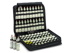 Set of  Original Bach Flower Remedies 38 x 20ml in Wallet Leather