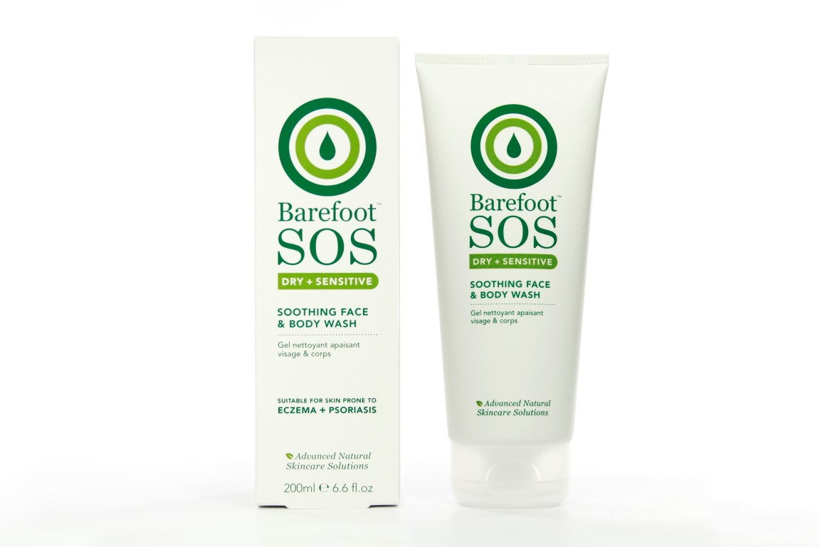Soothing Face and Body Wash 200ml