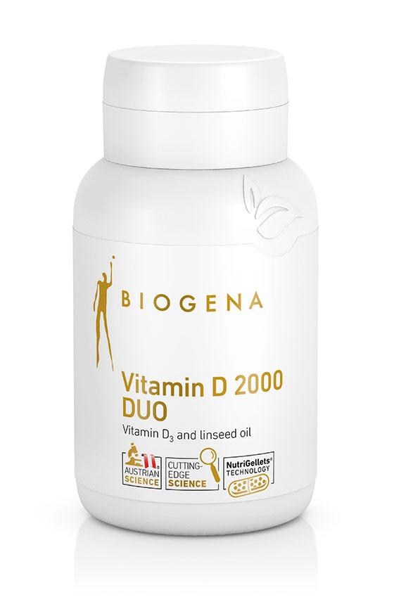 Vitamin D 2000 DUO 60's