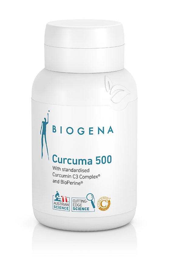 Curcuma 500 60's