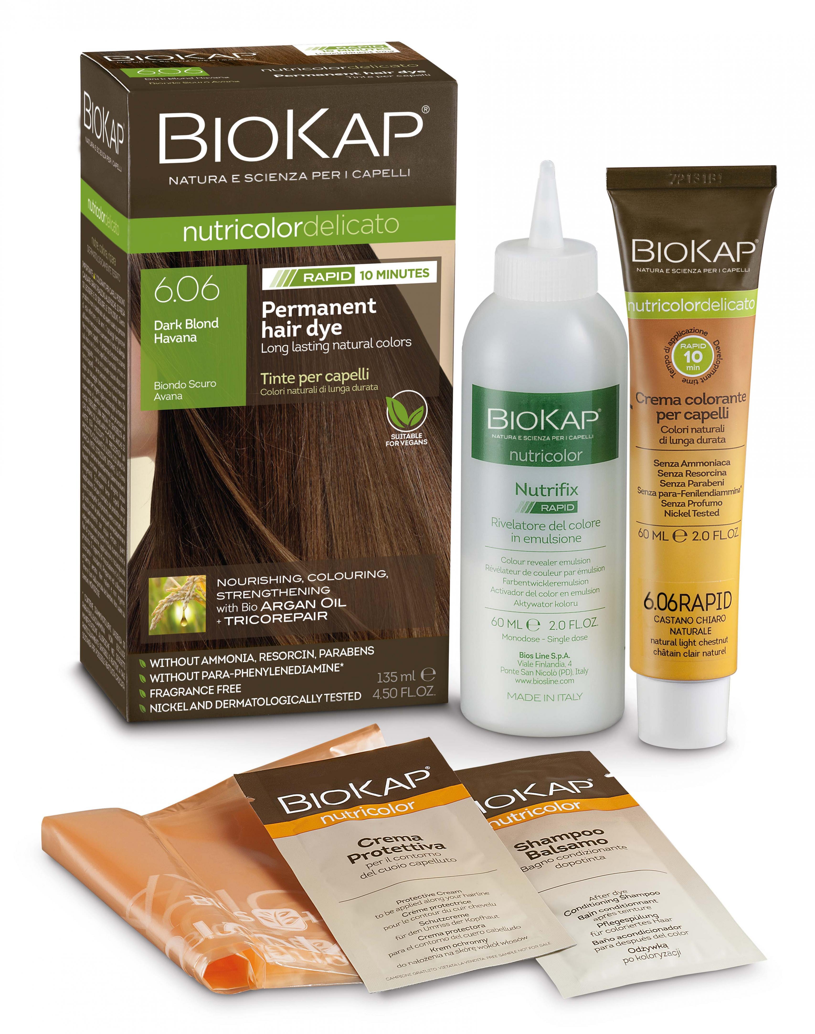 Dark Blond Havana 6.06 Rapid Hair Dye 135ml