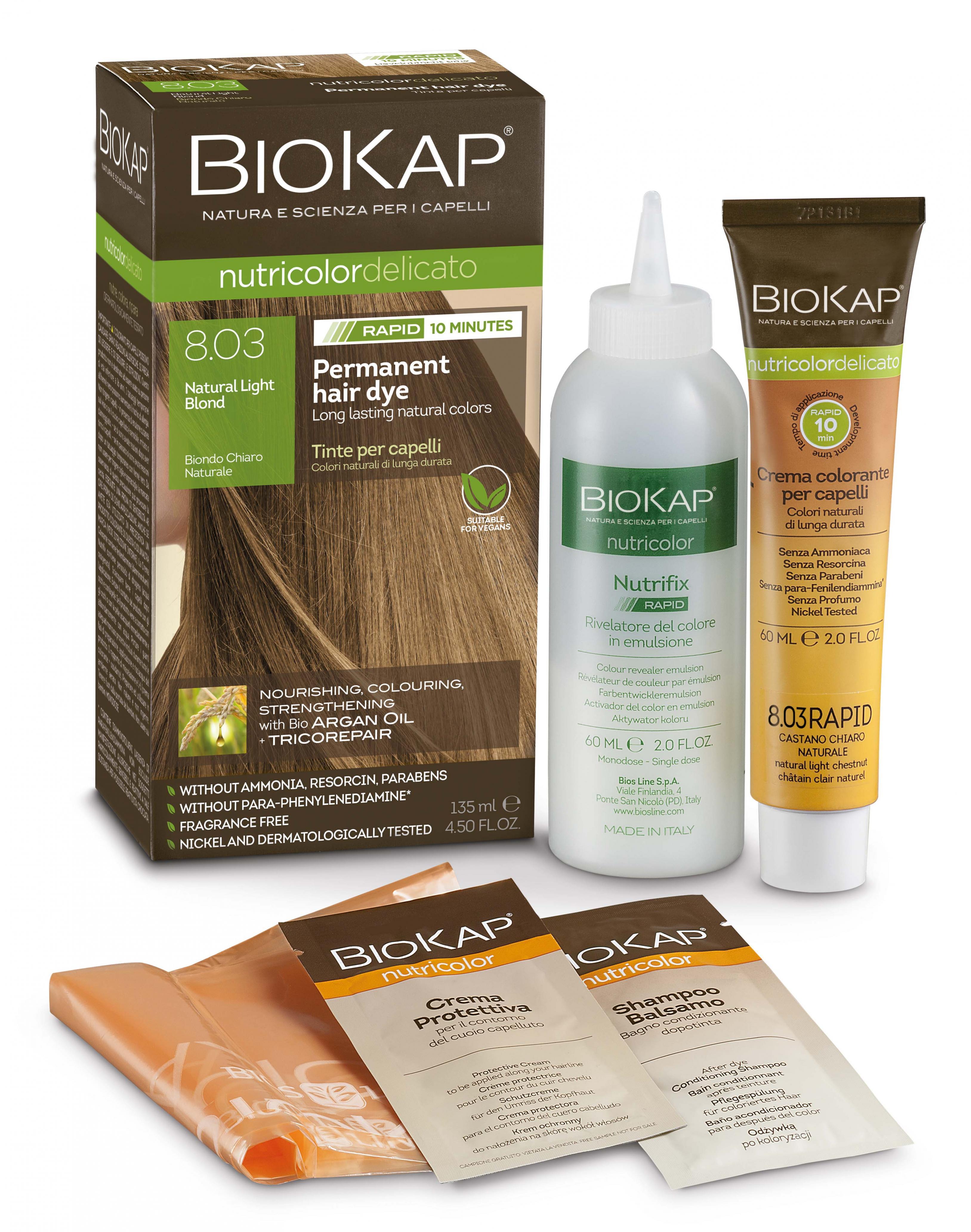 Natural Light Blond 8.03 Rapid Hair Dye 135ml