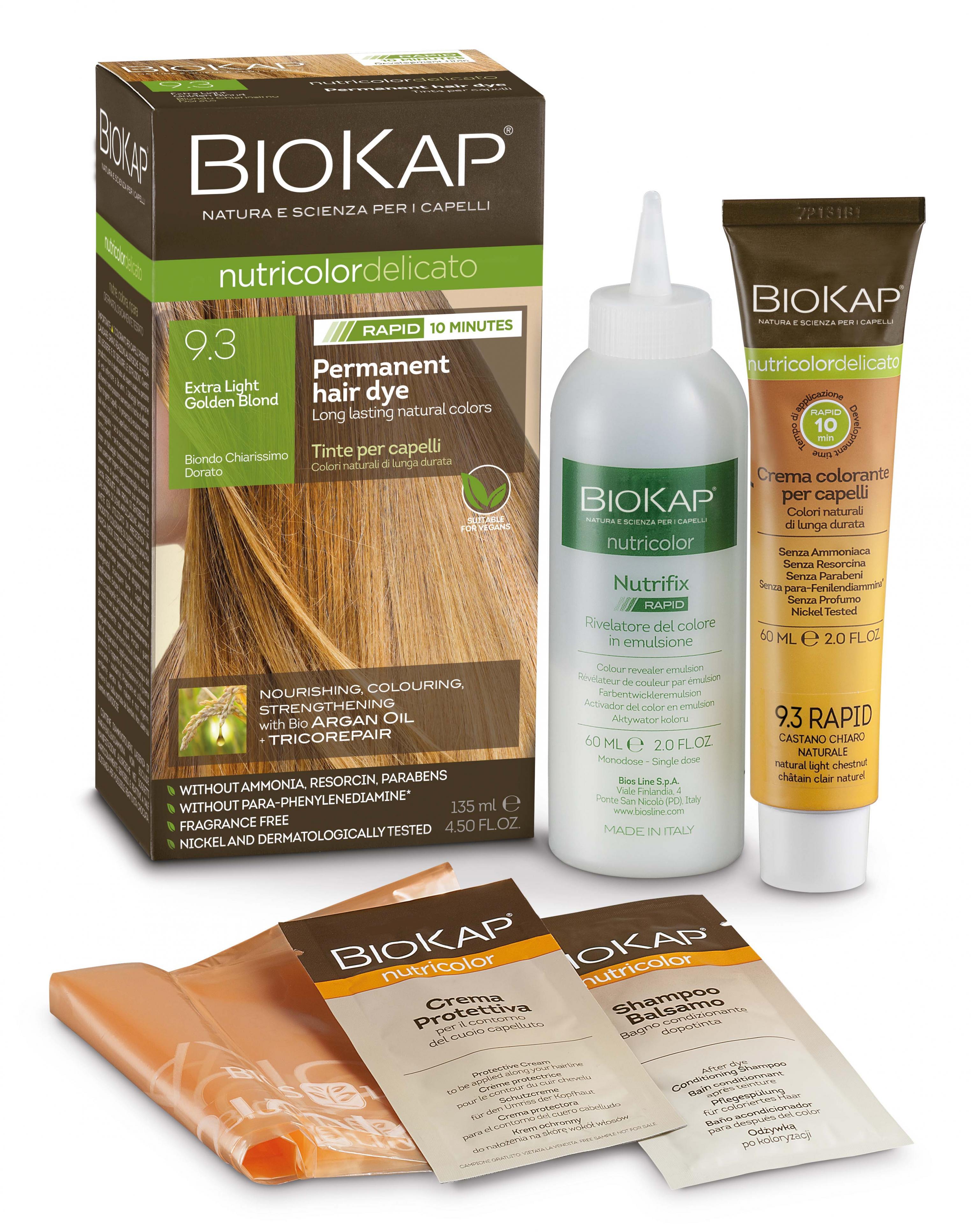 Extra Light Golden Blond 9.3 Rapid Hair Dye 135ml