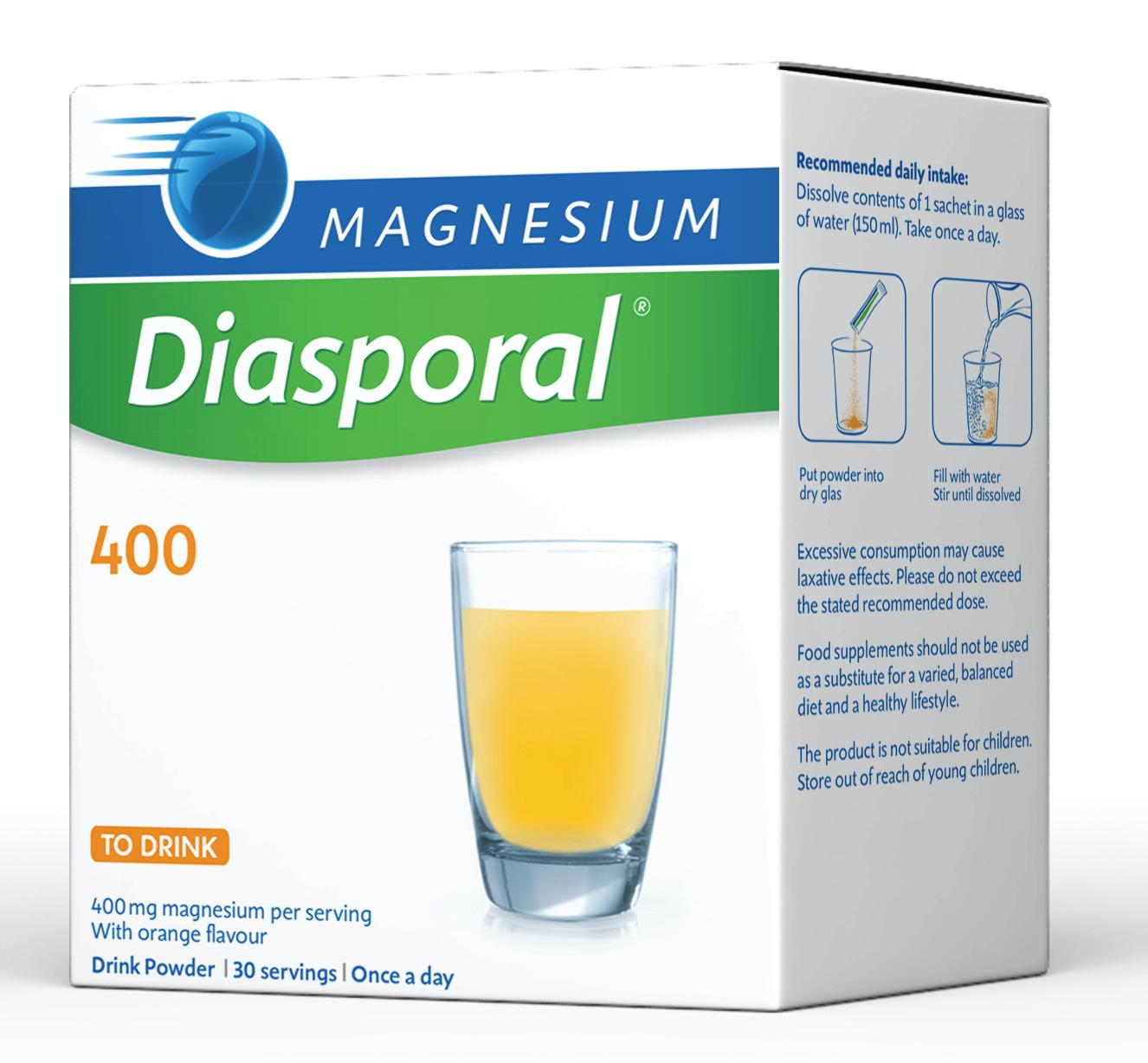 Magnesium Diasporal 400 30's