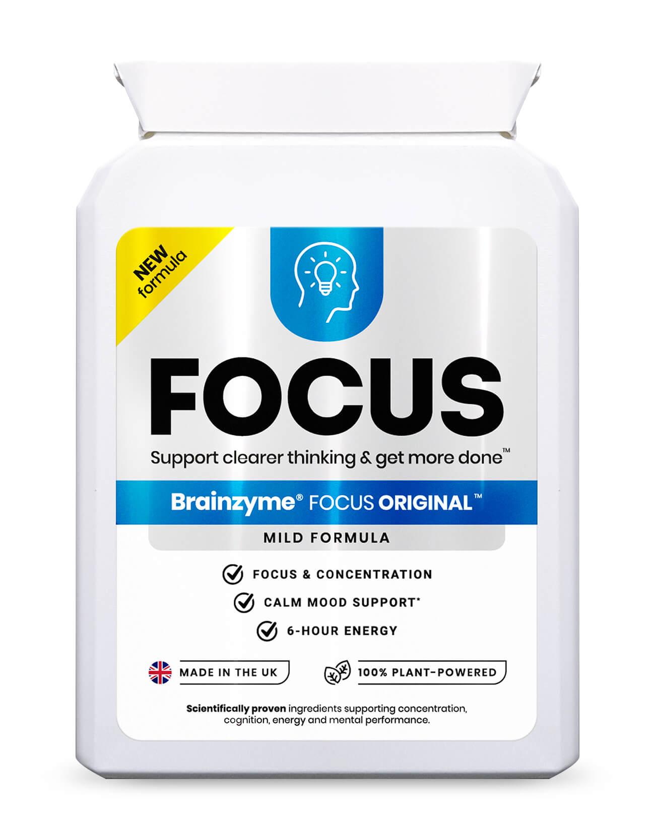 Brainzyme Focus Original 30's
