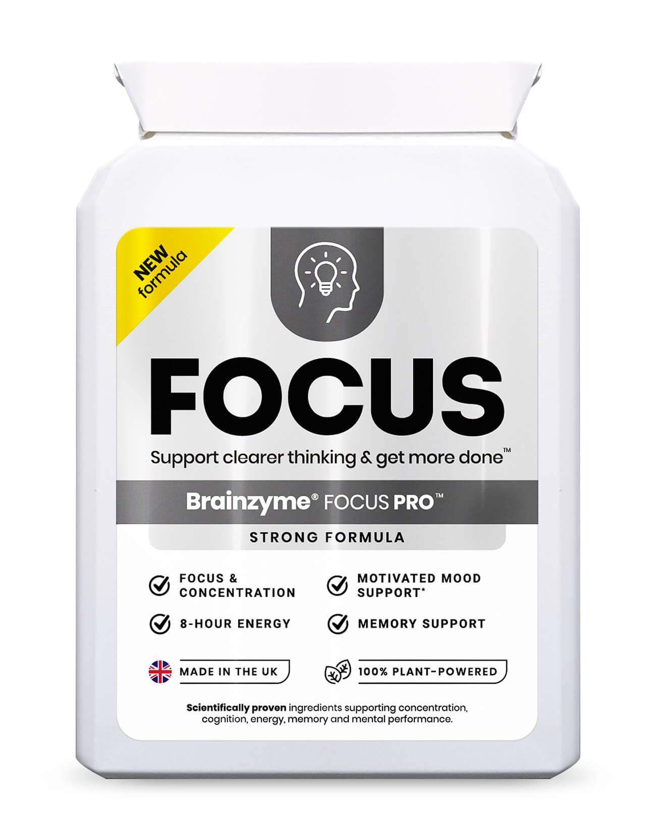 Brainzyme Focus Pro 30's