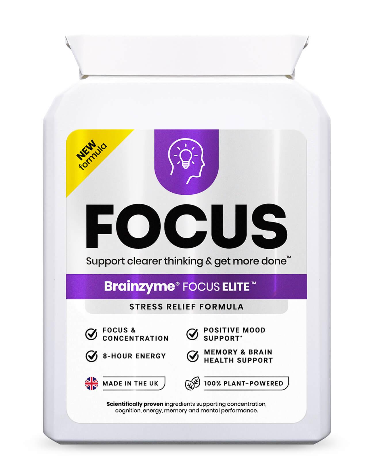 Brainzyme Focus Elite 30's