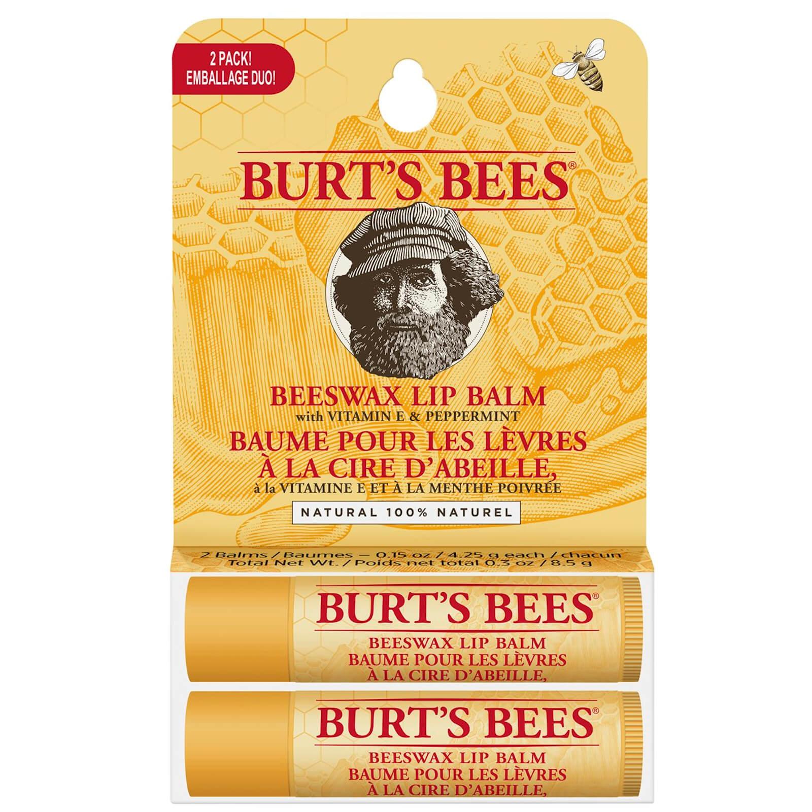 Beeswax Lip Balm 2 Pack