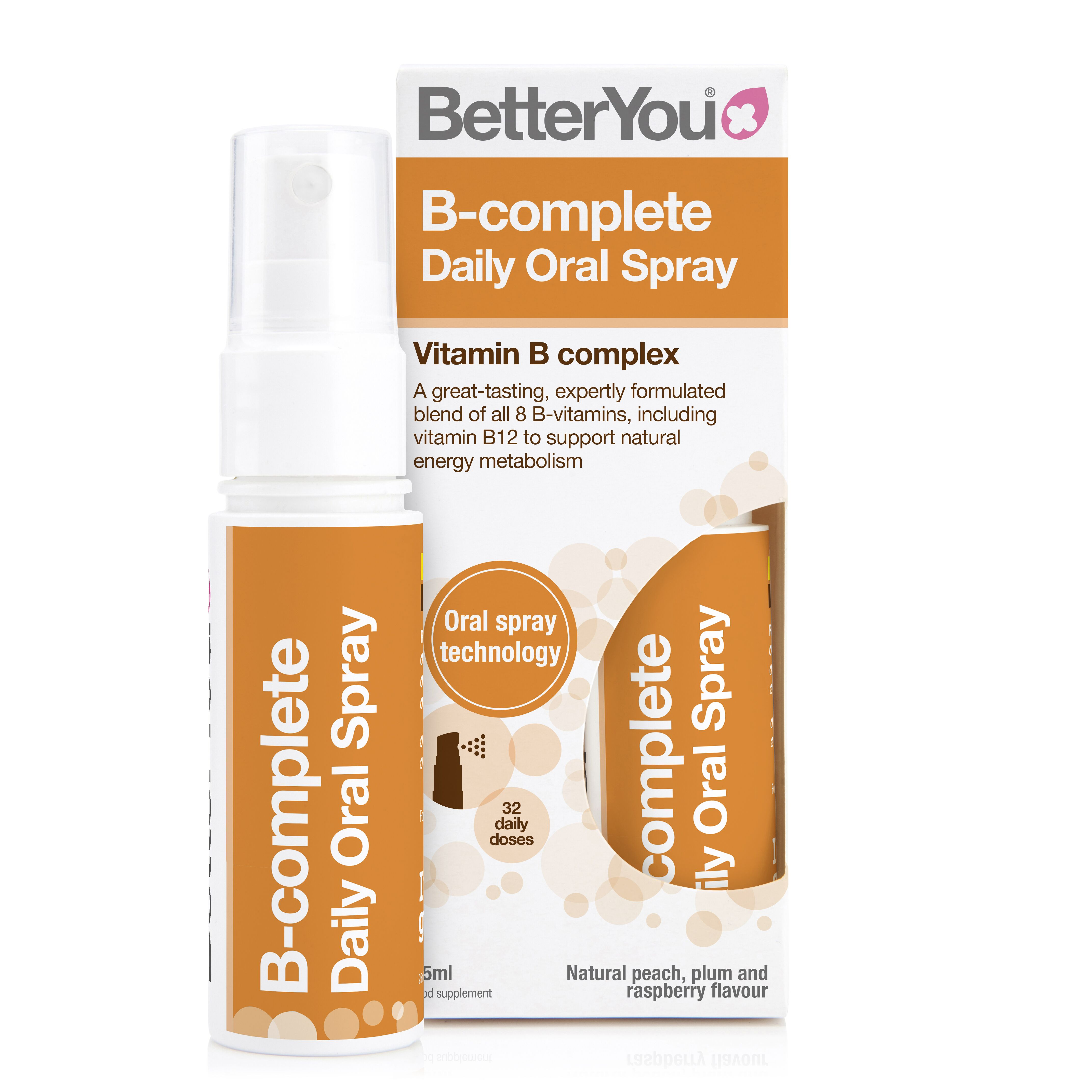 B-Complete Daily Oral Spray 25ml (Currently Unavailable)