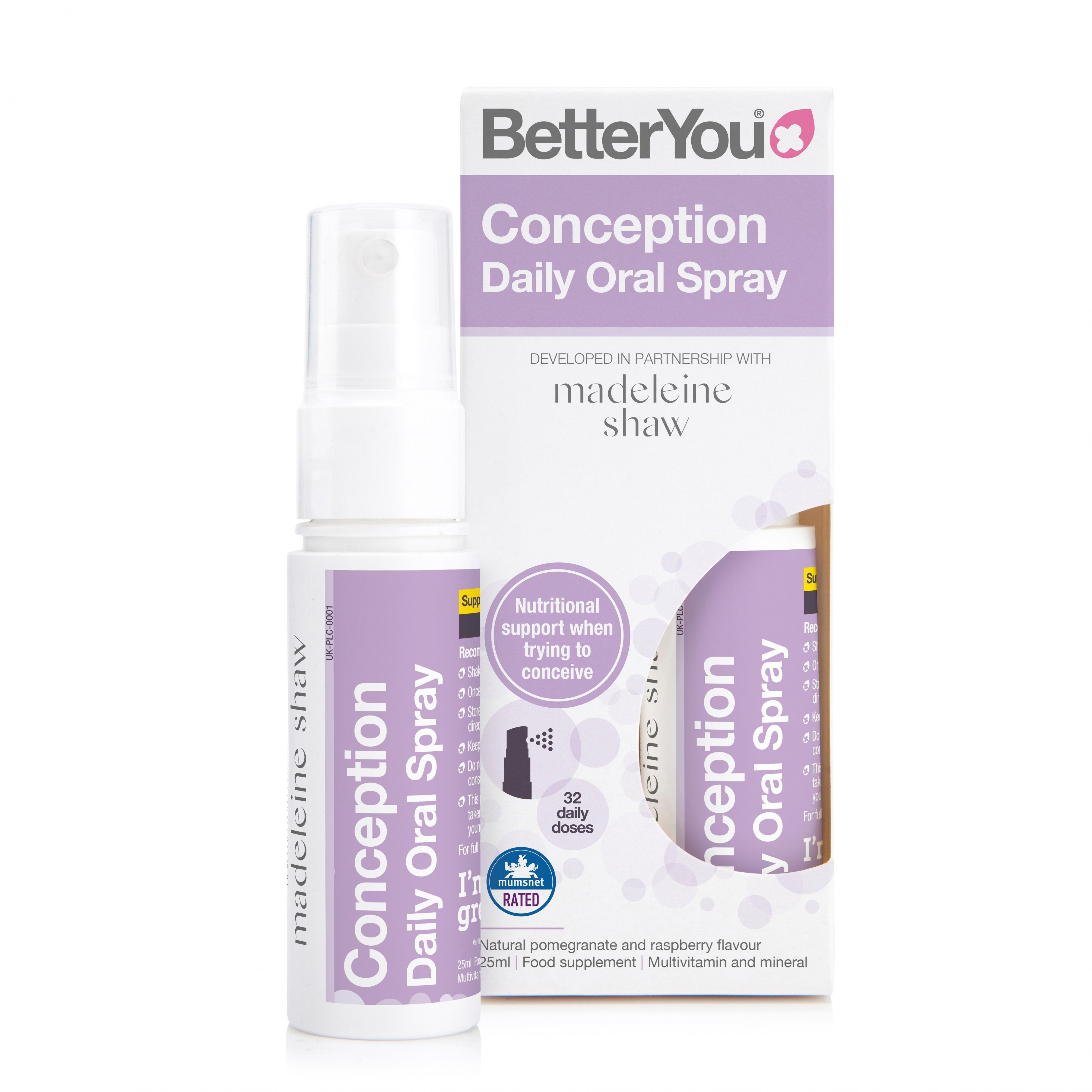 Conception Daily Oral Spray 25ml