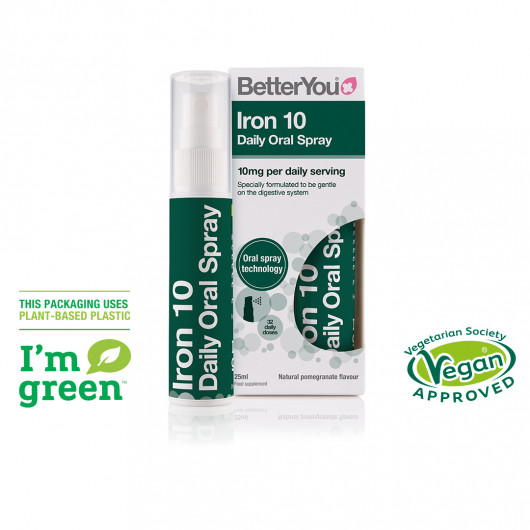 Iron 10 Daily Oral Spray 25ml (Green)