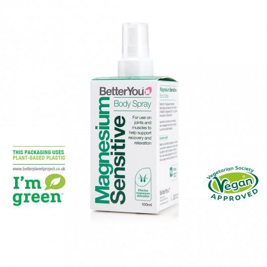 Magnesium Sensitive Body Spray 100ml