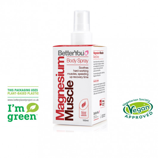 Magnesium Muscle Body Spray 100ml