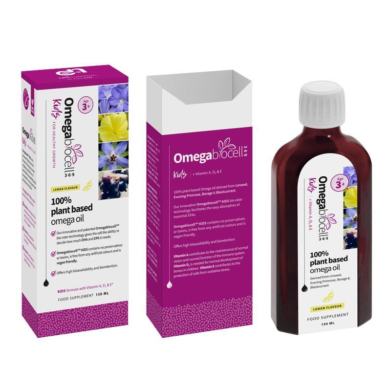 Omegabiocell 3-6-9 Kids Lemon 150ml (Currently Unavailable)