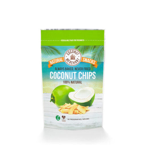Coconut Chips 100% Natural 40g