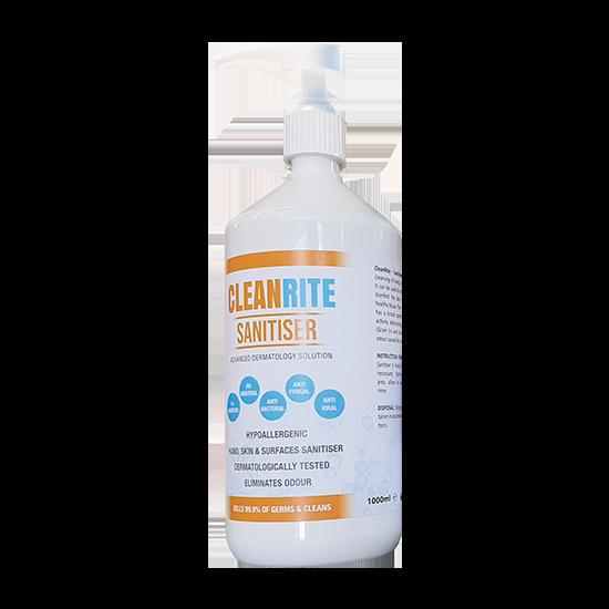 Cleanrite Sanitiser 1000ml (Pump)