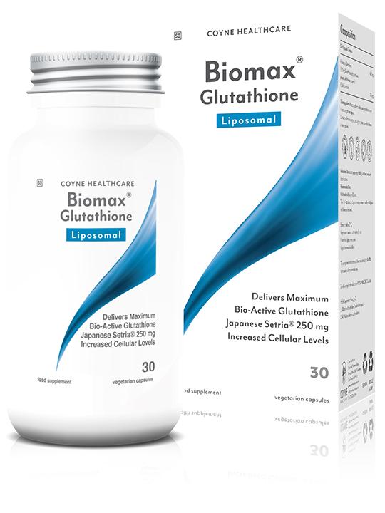 Biomax Glutathione Liposomal 30's