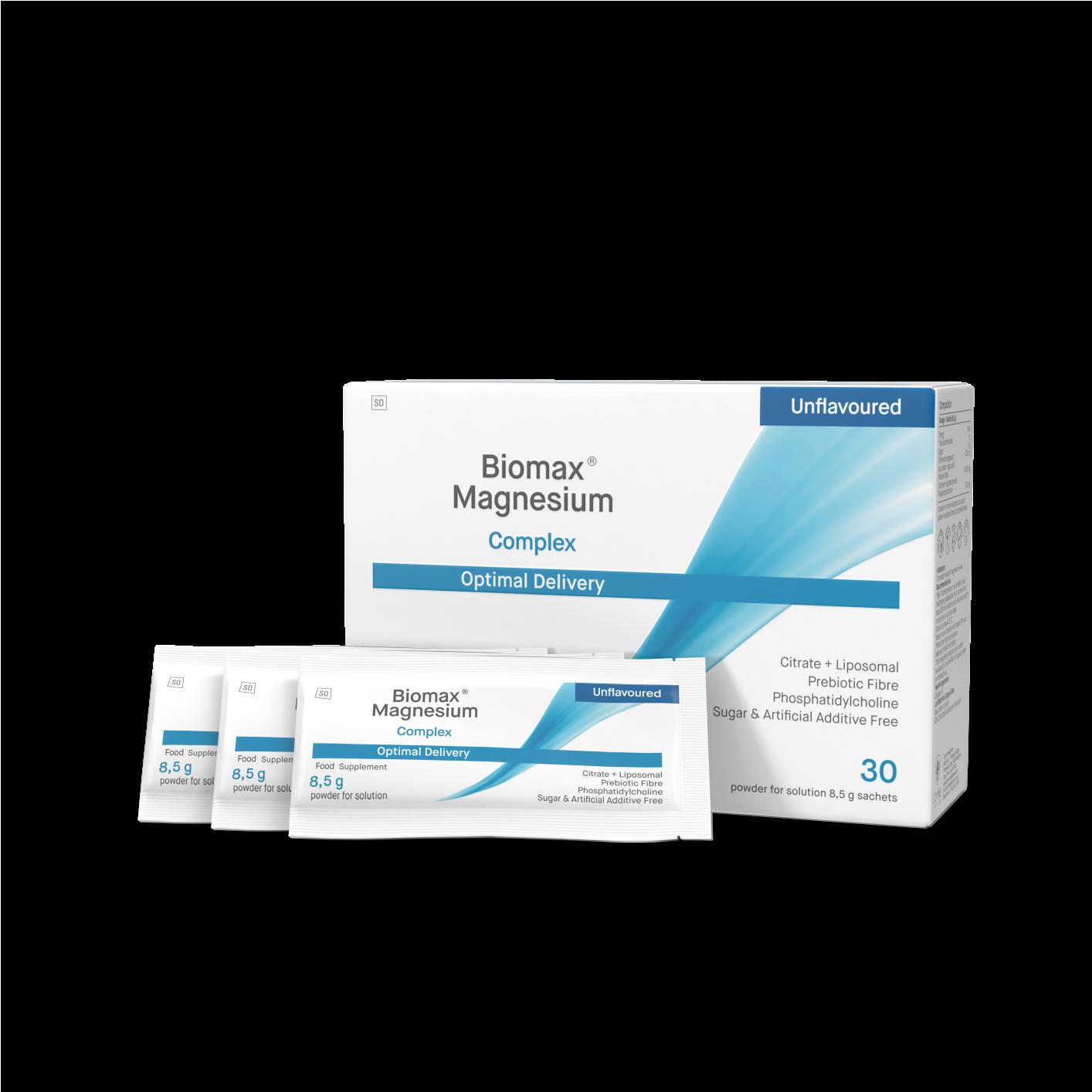 Biomax Magnesium Complex Unflavoured 30's