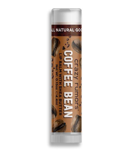 Coffee Bean Lip Balm with Shea Butter