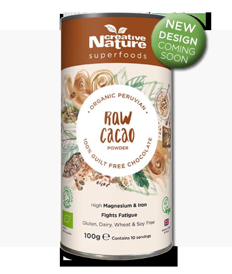 Raw Natural Cacao Powder (Formerly Organic Peruvian Raw) 100g