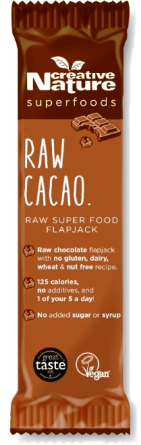 Oh Wow Cacao Chocolate Flapjack Bar (Case of 20)
