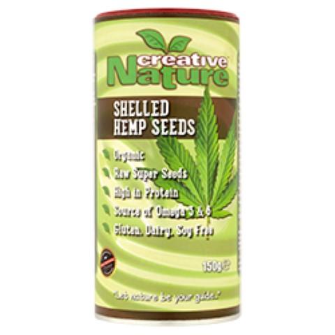 Organic Raw Super Seeds (Shelled Hemp Seeds) 150g