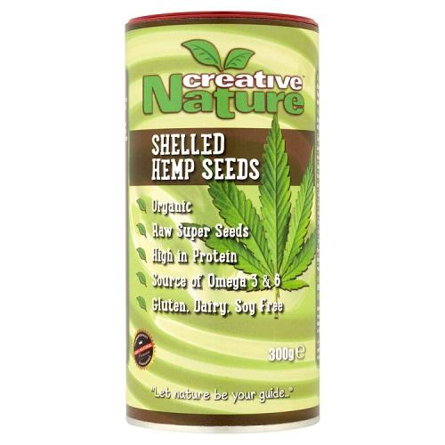 Organic Raw Super Seeds (Shelled Hemp Seeds) 300g