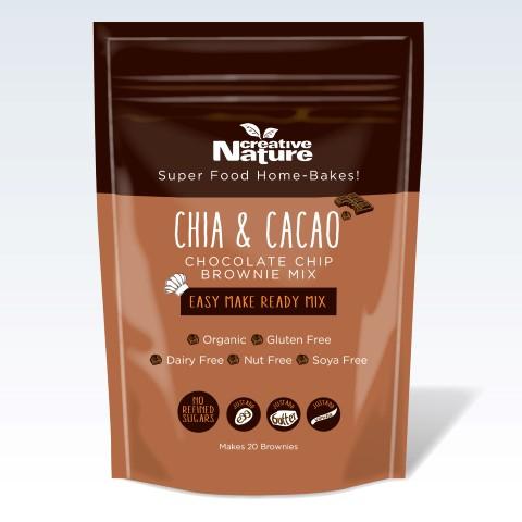 Organic Chia & Cacao Brownie Mix 400g