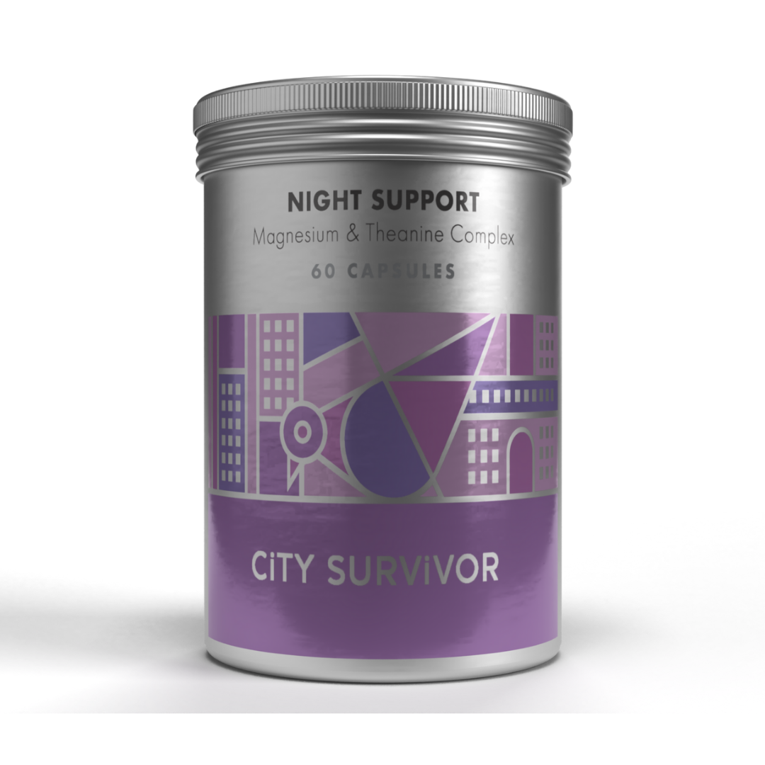 Night Support Magnesium & Theanine Complex 60's