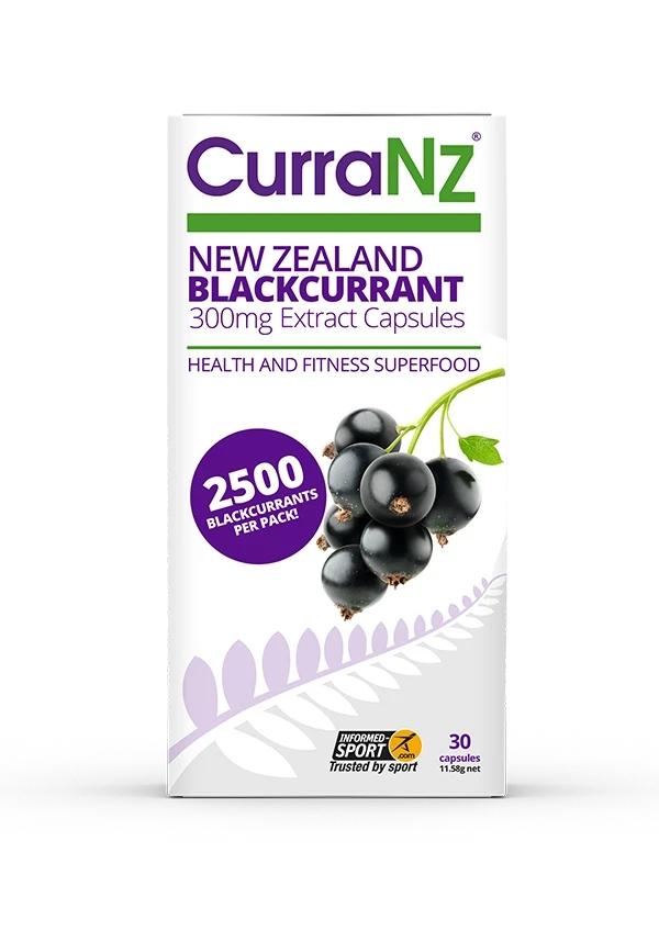 CurraNZ New Zealand Blackcurrant 30's