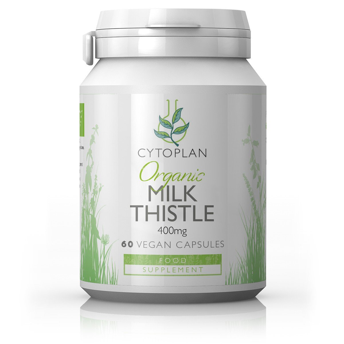 Organic Milk Thistle 400mg 60's