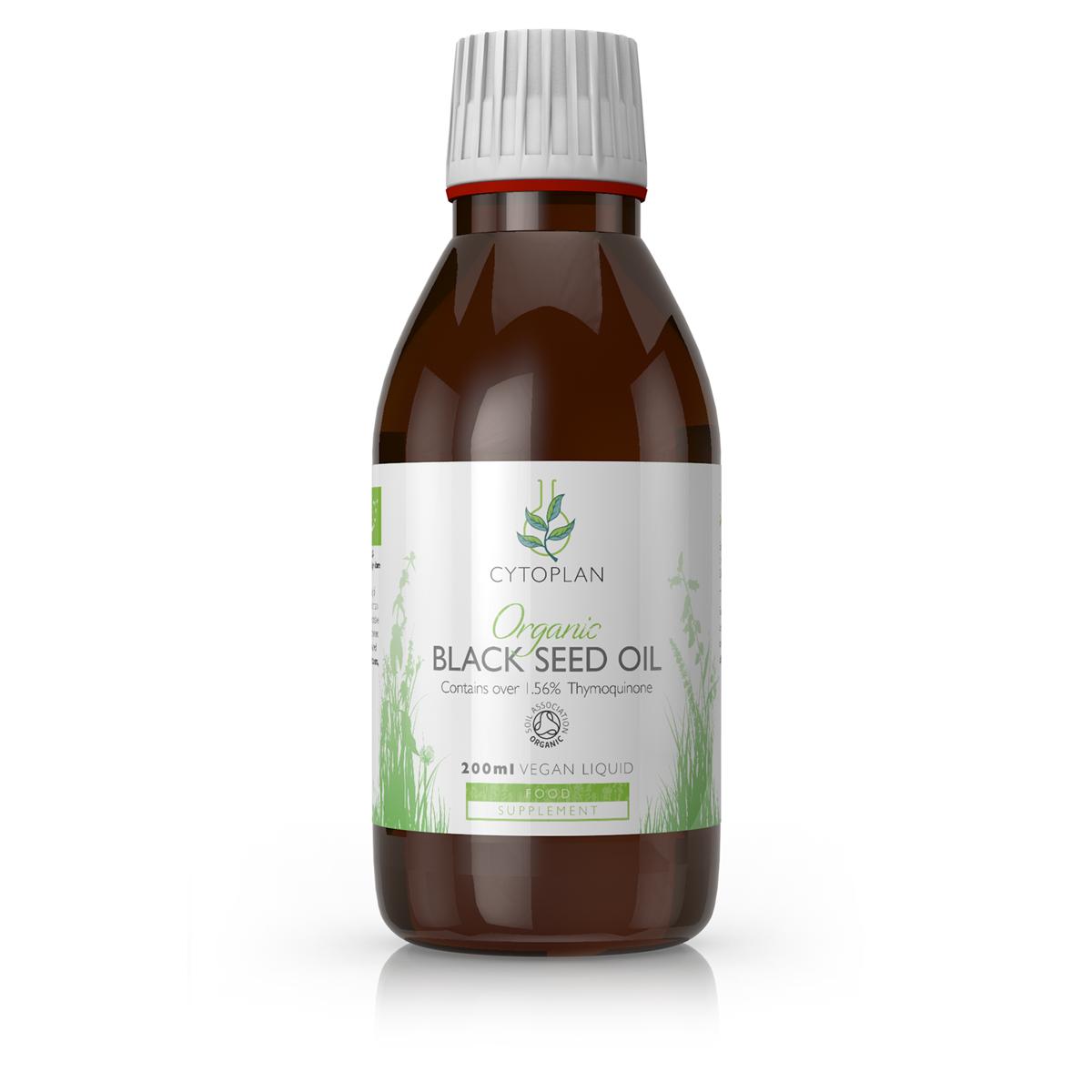 Organic Black Seed Oil 200ml