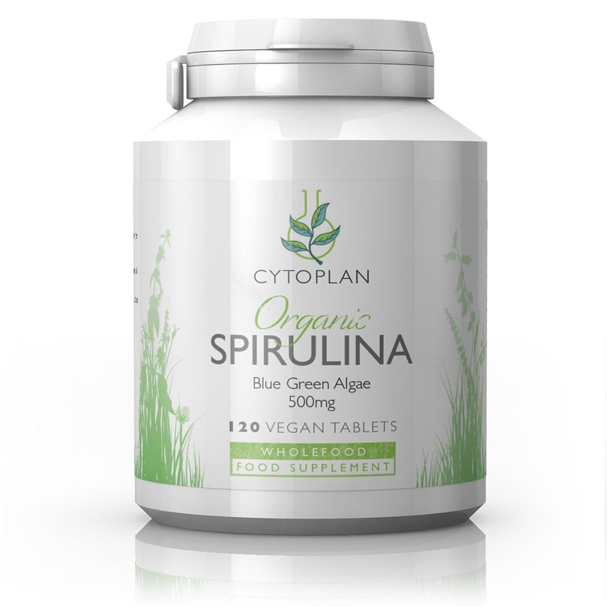Organic Spirulina 120's