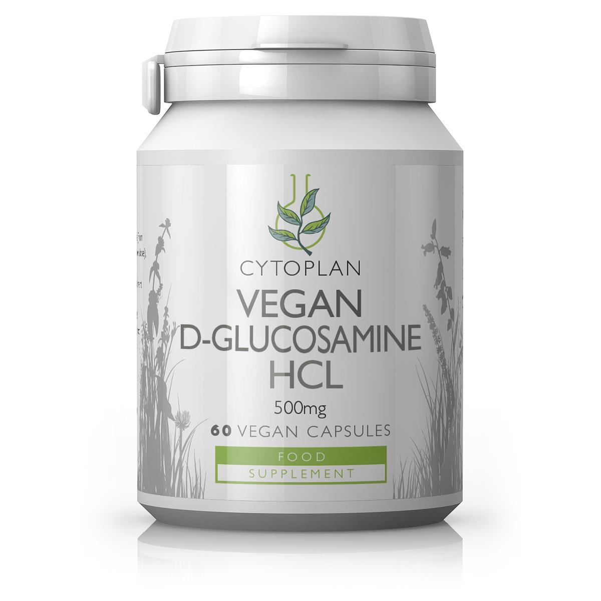 Vegan D-Glucosamine HCL 500mg 60's