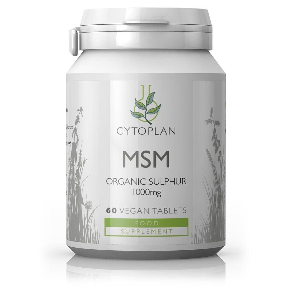 MSM Organic Sulphur 1000mg 60's
