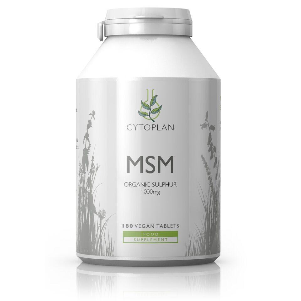 MSM Organic Sulphur 1000mg 180's