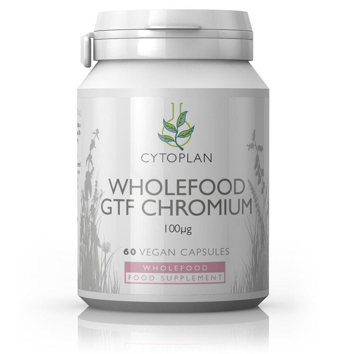 Wholefood GTF Chromium  100ug 60's