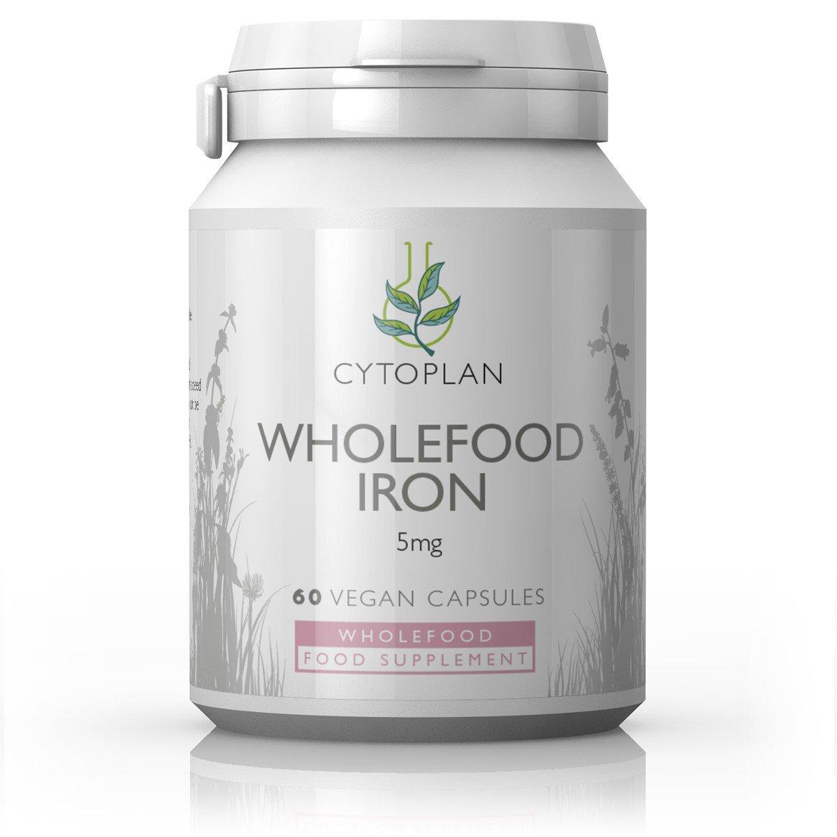 Wholefood Iron 5mg 60's
