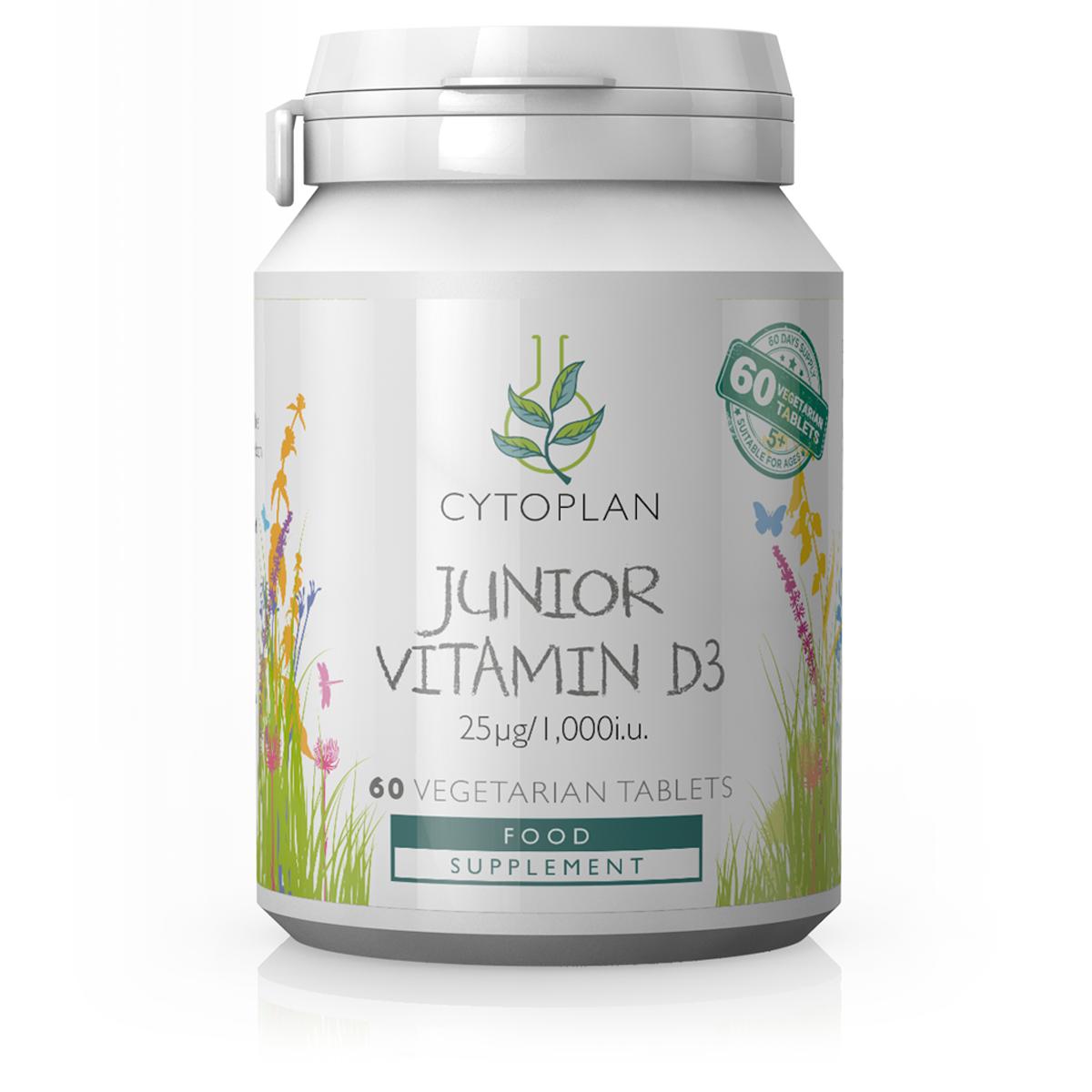 Junior Vitamin D3 60's