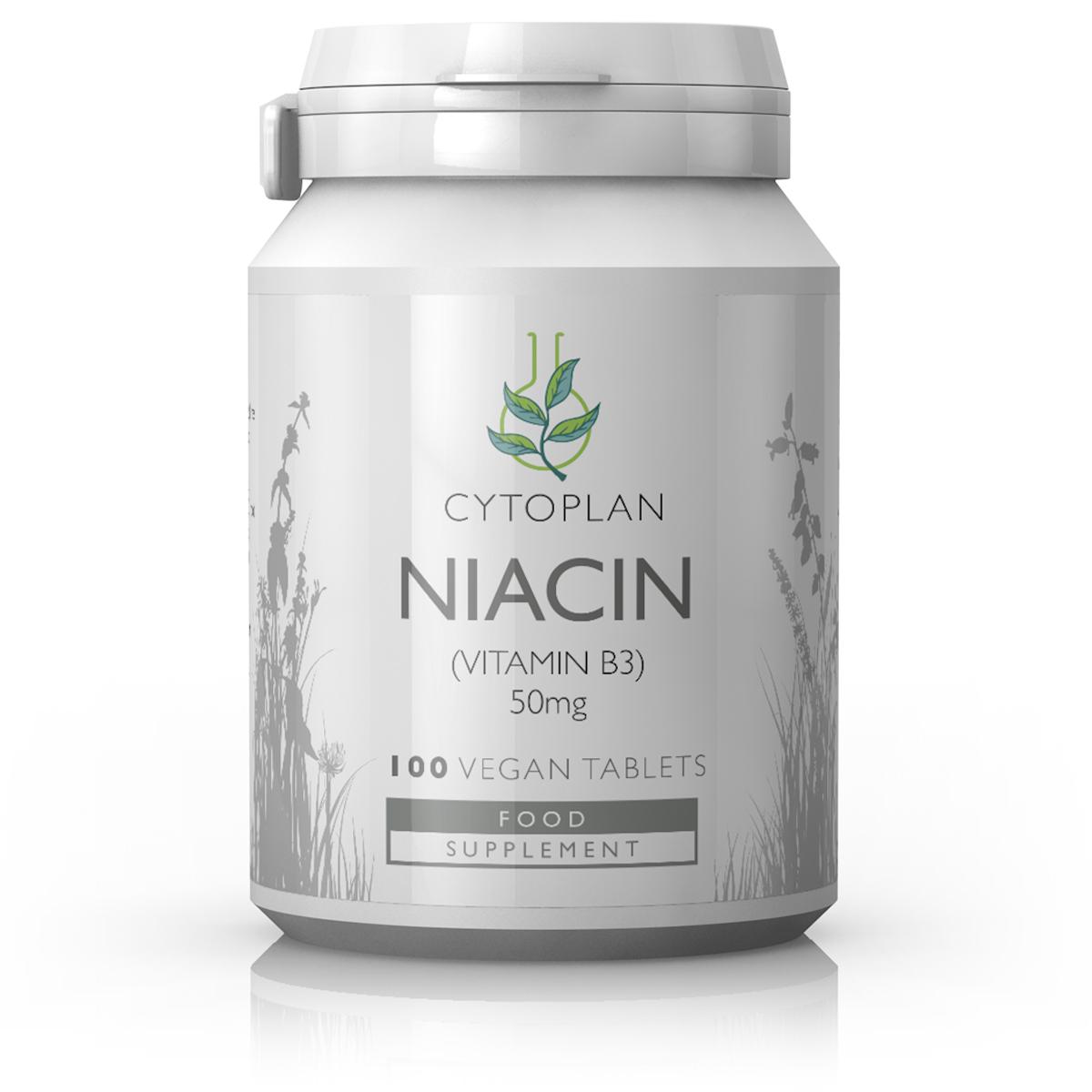 Niacin Vitamin B3 50mg 100's