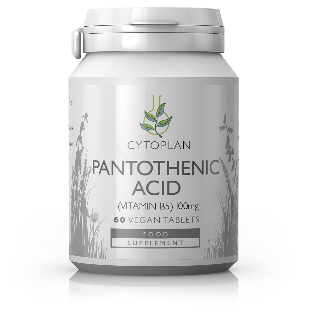Pantothenic Acid Vitamin B5 60's
