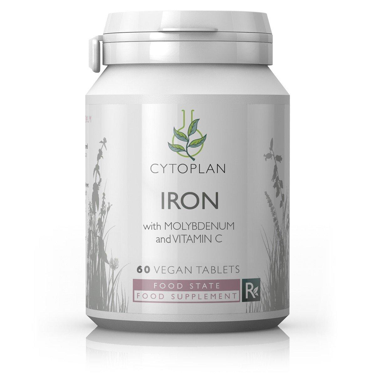 Iron with Molybdenum & Vitamin C  60's