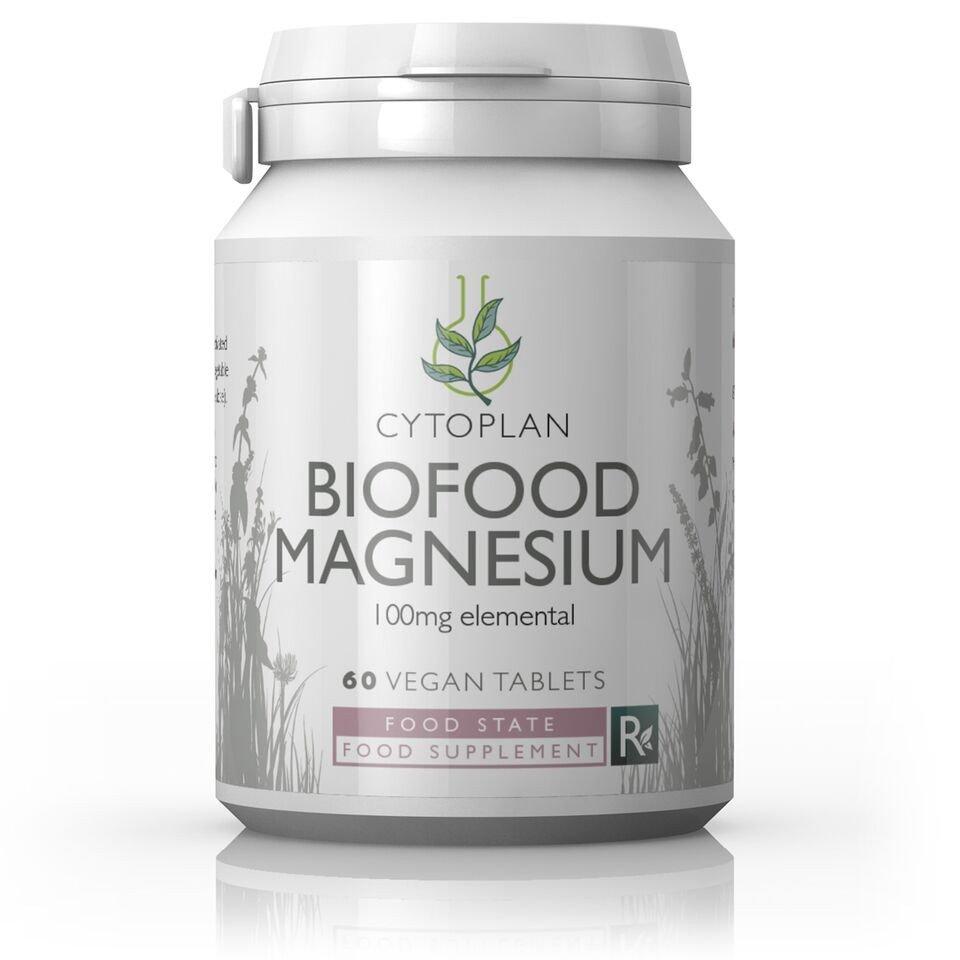 Biofood Magnesium 100mg  60's