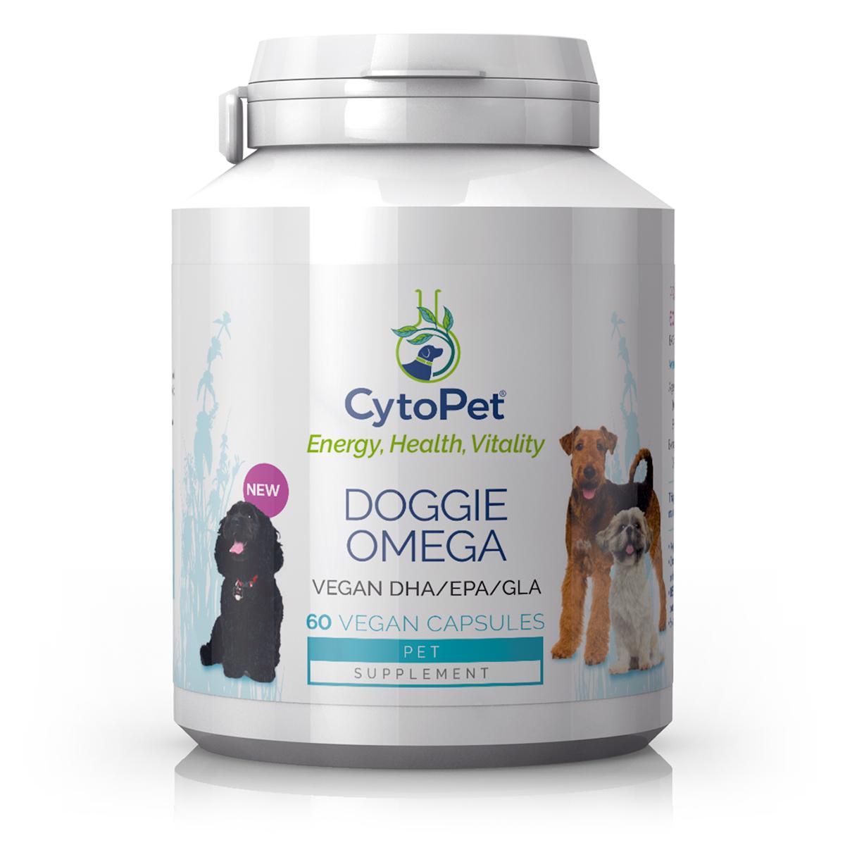 CytoPet Doggie Omega 60's