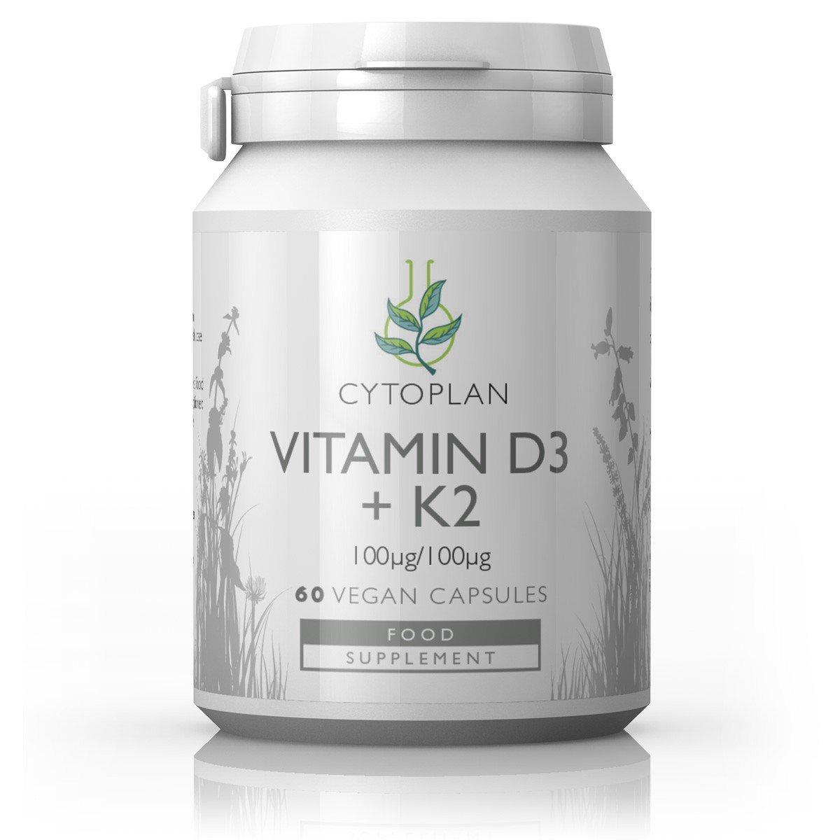Vitamin D3 + K2 (Vegan) 60's