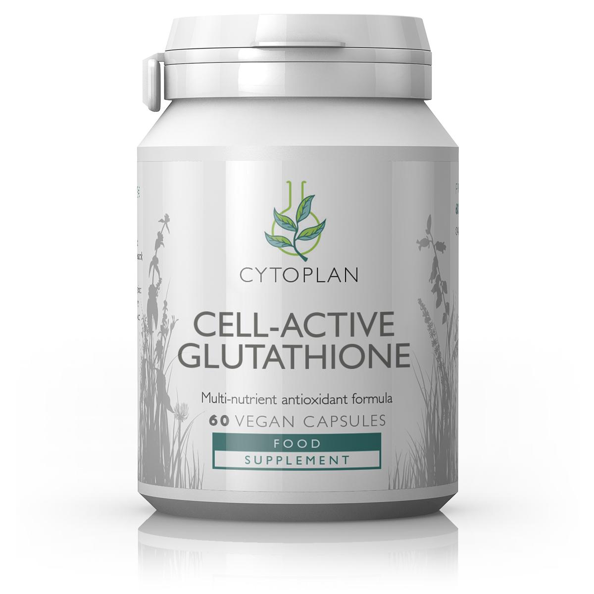 Cell-Active Glutathione (Formerly Liposomal Glutathione) 60's