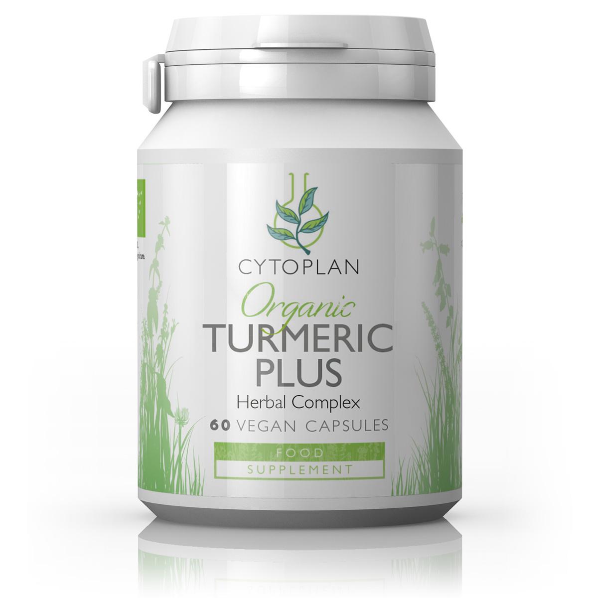Organic Turmeric Plus 60's