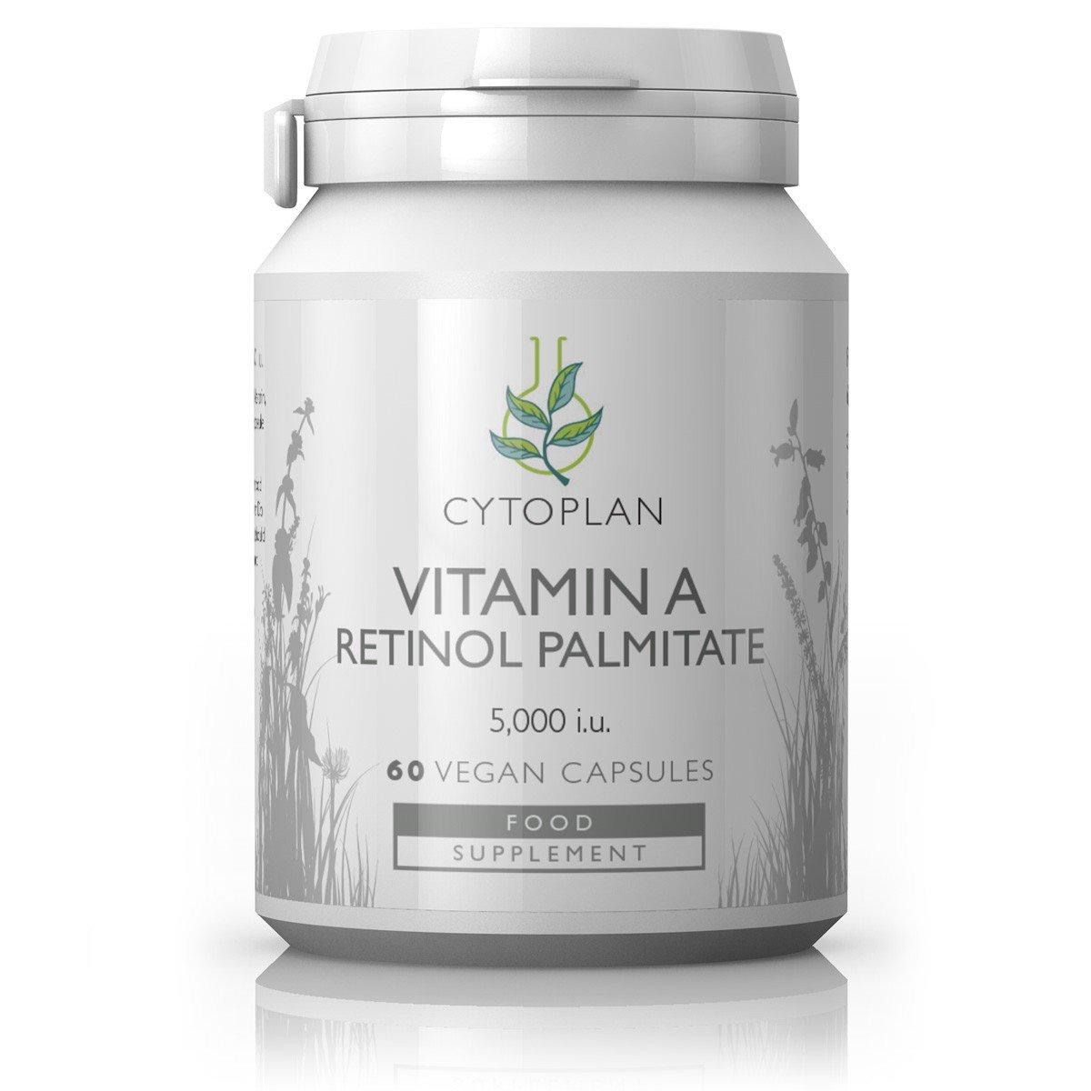 Vitamin A Retinol Palmitate 5000IU 60's